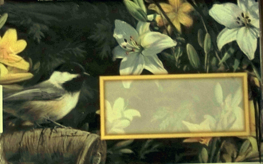 SUMMER CHICKADEE MAILBOX COVER