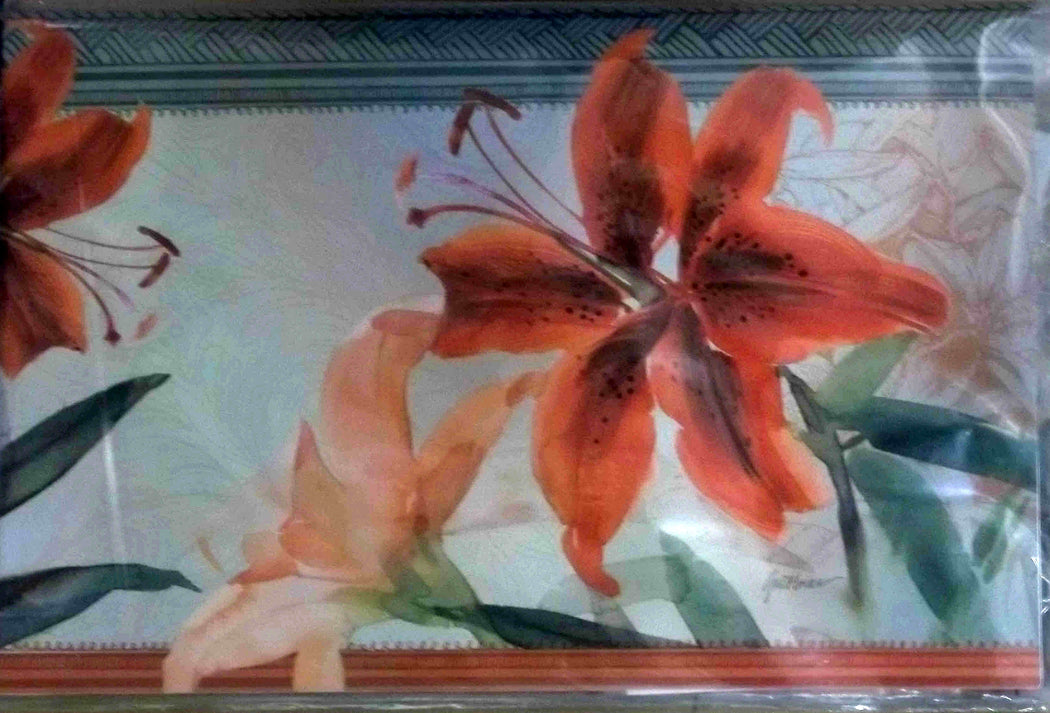 TIGER LILY MAILBOX COVER