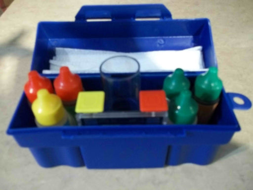 WATER TEST KIT (5 BOTTLES) OLYMPIC