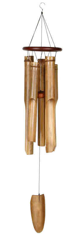 COCOA RING BAMBOO WOODSTOCK WINDCHIME