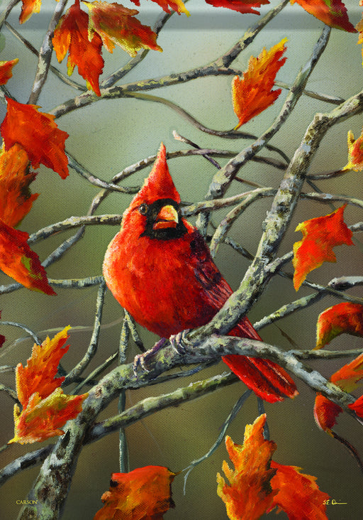AUTUMN LEAVES CARDINAL