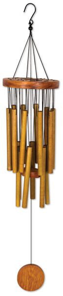 CIRCLE BAMBOO WINDCHIME