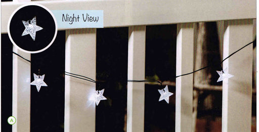 STAR SOLAR STRING LIGHTS