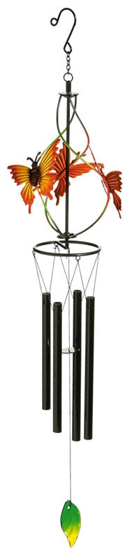 TWIRLING BUTTERFLY WINDCHIME