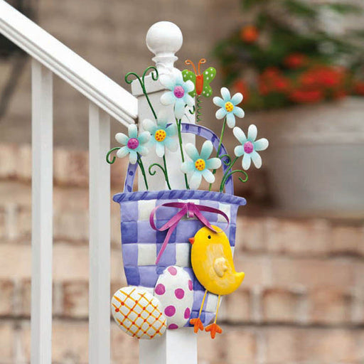 EASTER BASKET WALL DECOR
