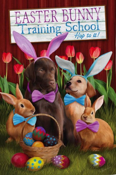 EASTER BUNNY TRAINING SCHOOL