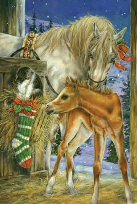 FOAL'S FIRST CHRISTMAS