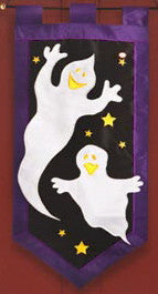 GHOST HAUNT FIBER OPTIC DOOR HANGER
