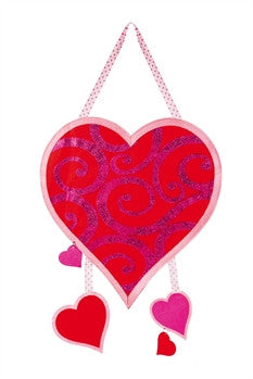 VALENTINE'S BE MINE FELT DOOR HANGER