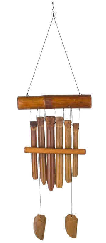 GAMELAN BAMBOO WOODSTOCK WINDCHIME
