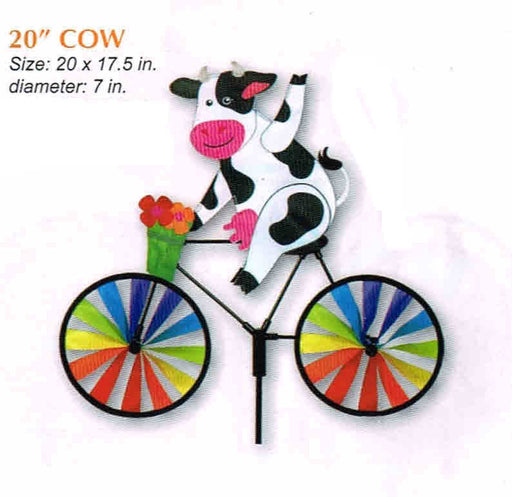 "COW 20"" BICYCLE SPINNER"