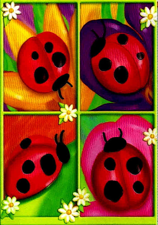 FOUR LADYBUGS