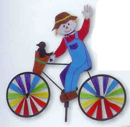 SCARECROW 20'' BIKE SPINNER