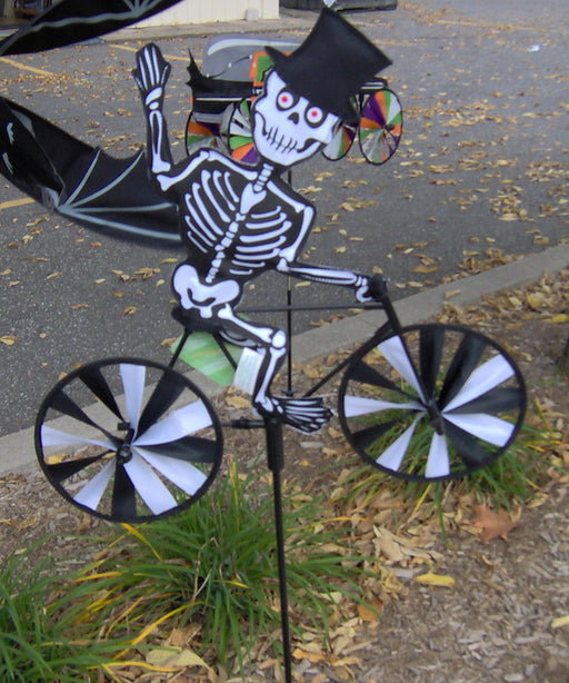 SKELETON 20'' BIKE SPINNER