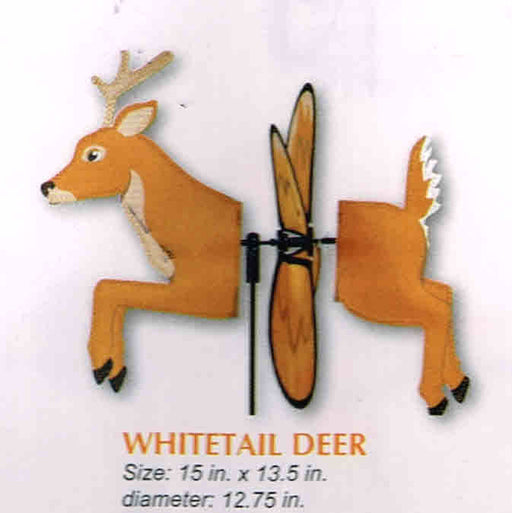 WHITETAIL DEER PETITE SPINNER