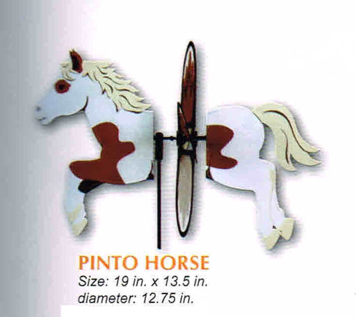 PINTO HORSE PETITE SPINNER