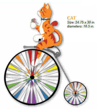 CAT HIGH WHEEL BICYCLE SPINNER