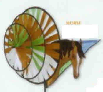 HORSE TRIPLE WHEEL SPINNER