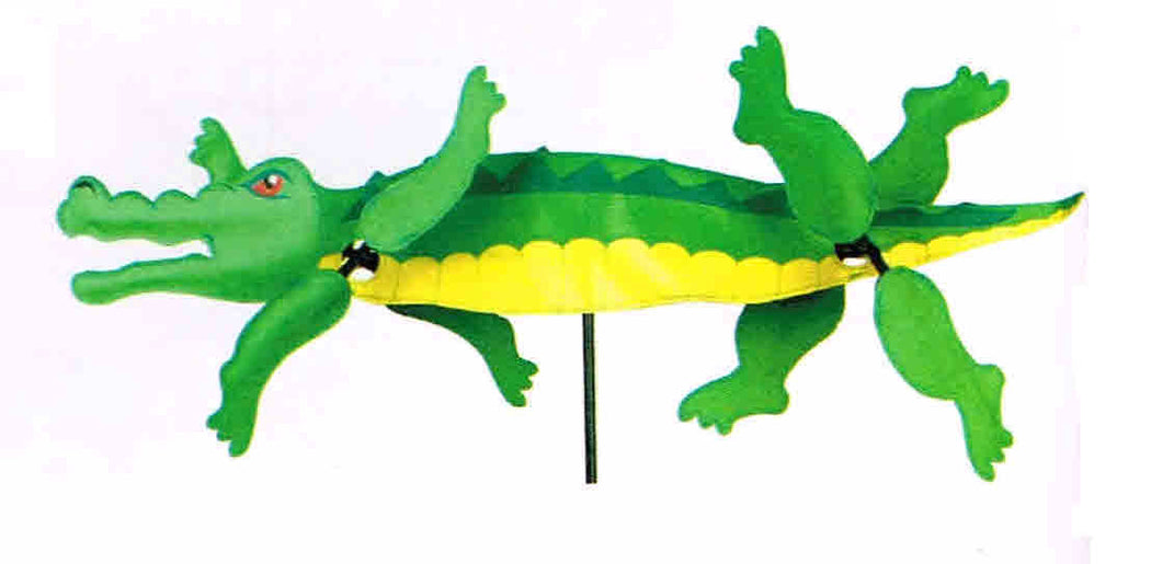 ALLIGATOR WHIRLIGIG SPINNER 30''
