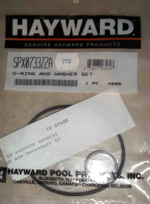 O'RING & WASHER SET FOR 3 WAY VALVE HAYWARD SPX0733Z2A