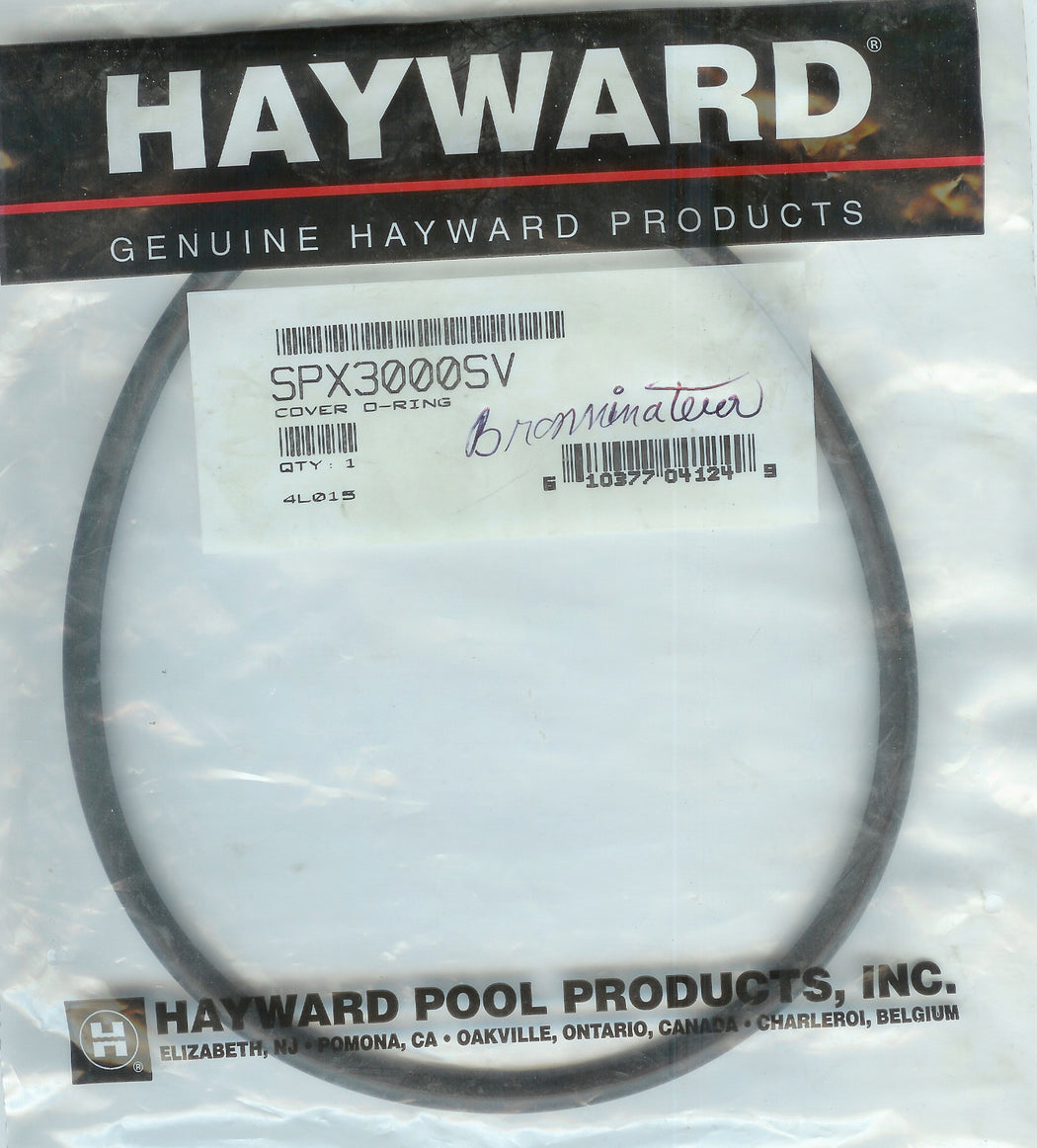 CHEMICAL FEEDER COVER VITON O'RING HAYWARD SPX3000SV