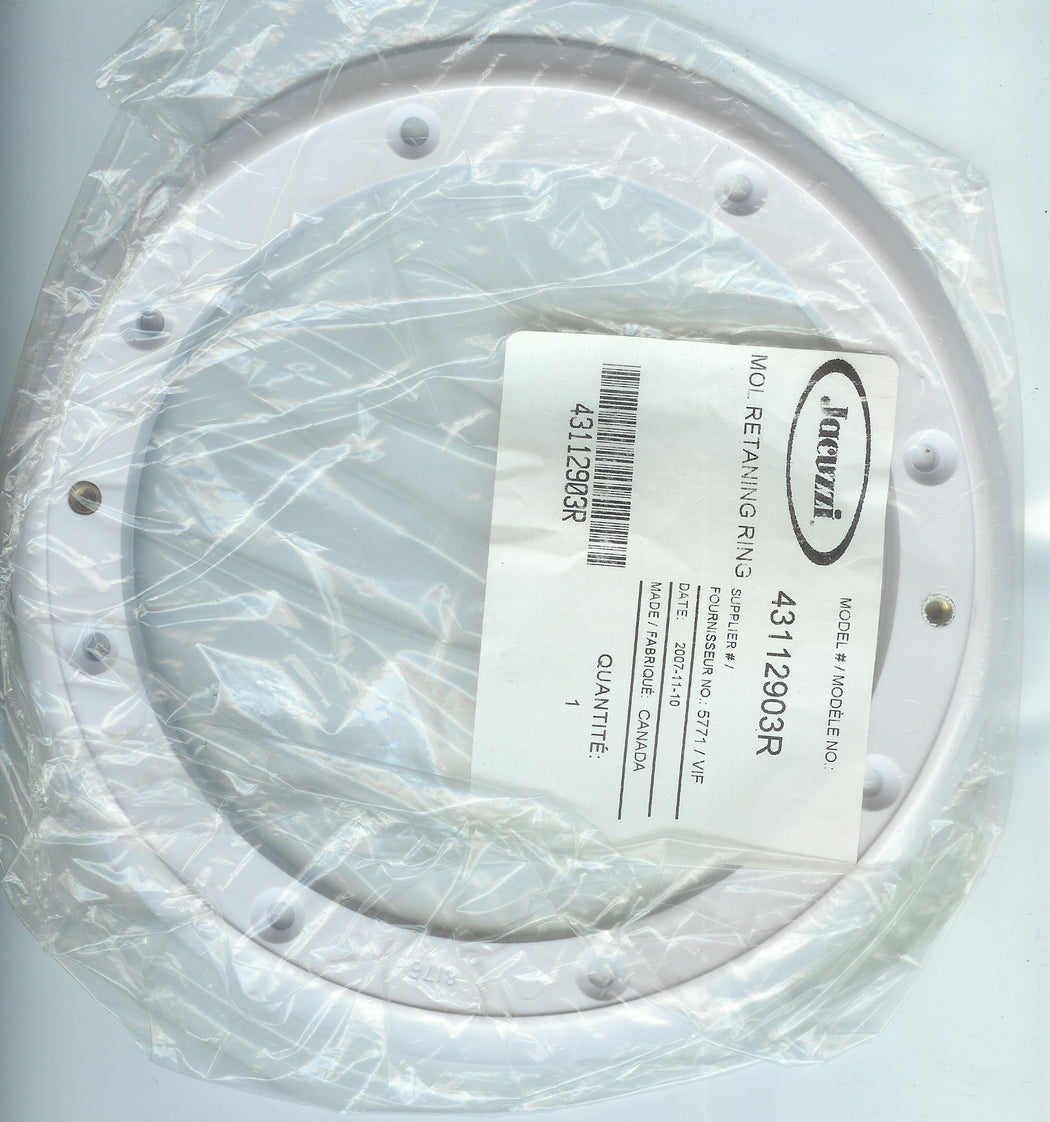 MAIN DRAIN FACE PLATE JACUZZI 43112903