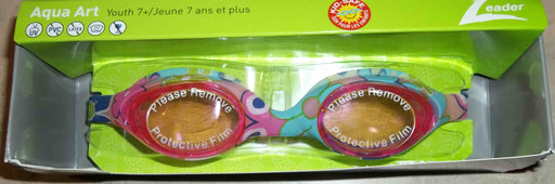 AQUA ART JR GOGGLES YOUTH PINK / PINK FLOWER LEADER