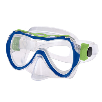 UTILA JR. MASK NAVYBLUE/LIME GREEN YOUTH LEADER