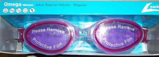 OMEGA GOGGLES ADULT PURPLE / CLEAR LEADER