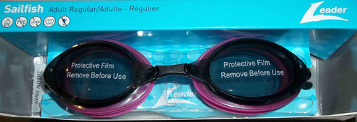 SAILFISH GOGGLES ADULT SMOKE / PINK BLACK LEADER
