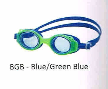 JELLY FISH GOGGLES YOUTH LEADER BLUE/BLUE GREEN