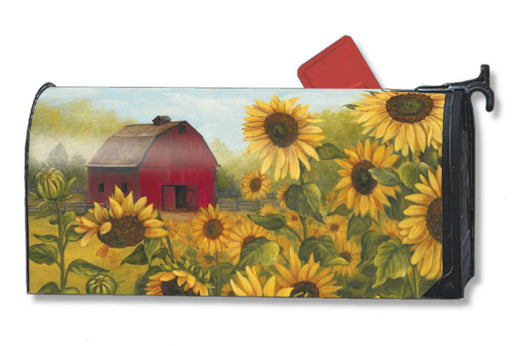 SUNFLOWER FARM MAILBOX COVER