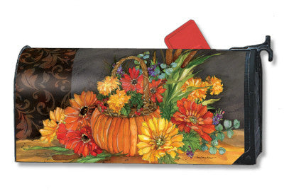 AUTUMN TAPESTRY MAILBOX COVER