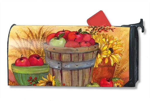 BUSHEL OF APPLES MAILBOX COVER