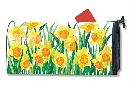 DAFFODILS IN BLOOM MAILBOX COVER