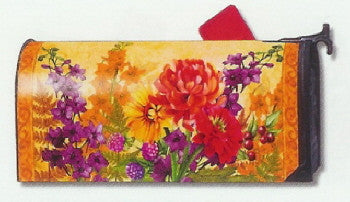 FALL FLORAL MAILBOX COVER