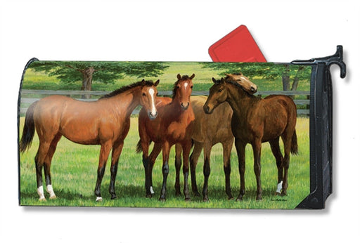 GRAZING TIME MAILBOX COVER