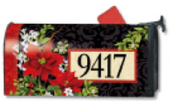 HOLIDAY FLORAL MAILBOX COVER