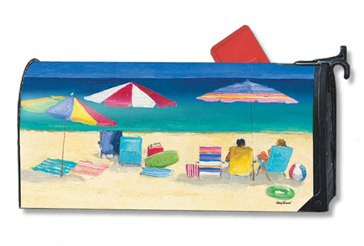 LOVE THE BEACH MAILBOX COVER
