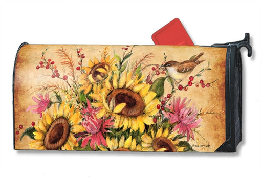 SUNFLOWER MIX MAILBOX COVER