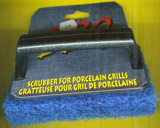 SCRUBBER FOR PORCELAIN BBQ GRILLS