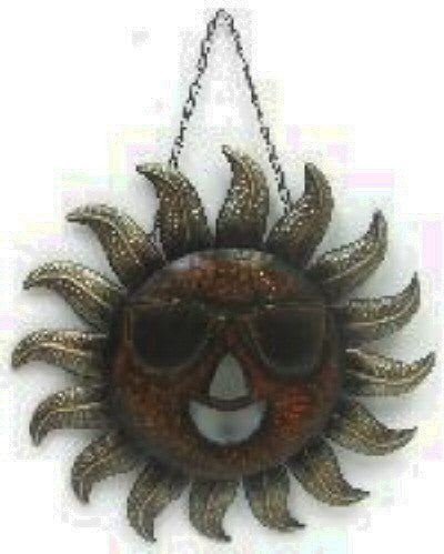 SUN WEARING SUNGLASSES WALL DECOR