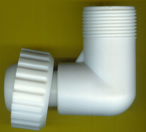 FOUNTAIN ELBOW & ADAPTER THREADED