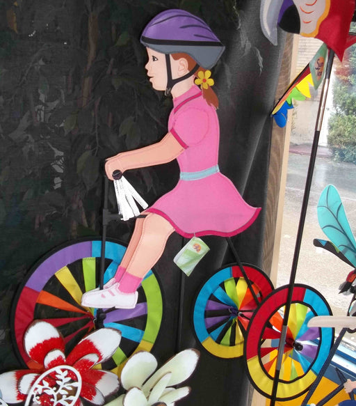 GIRL TRICYCLE 25'' SPINNER