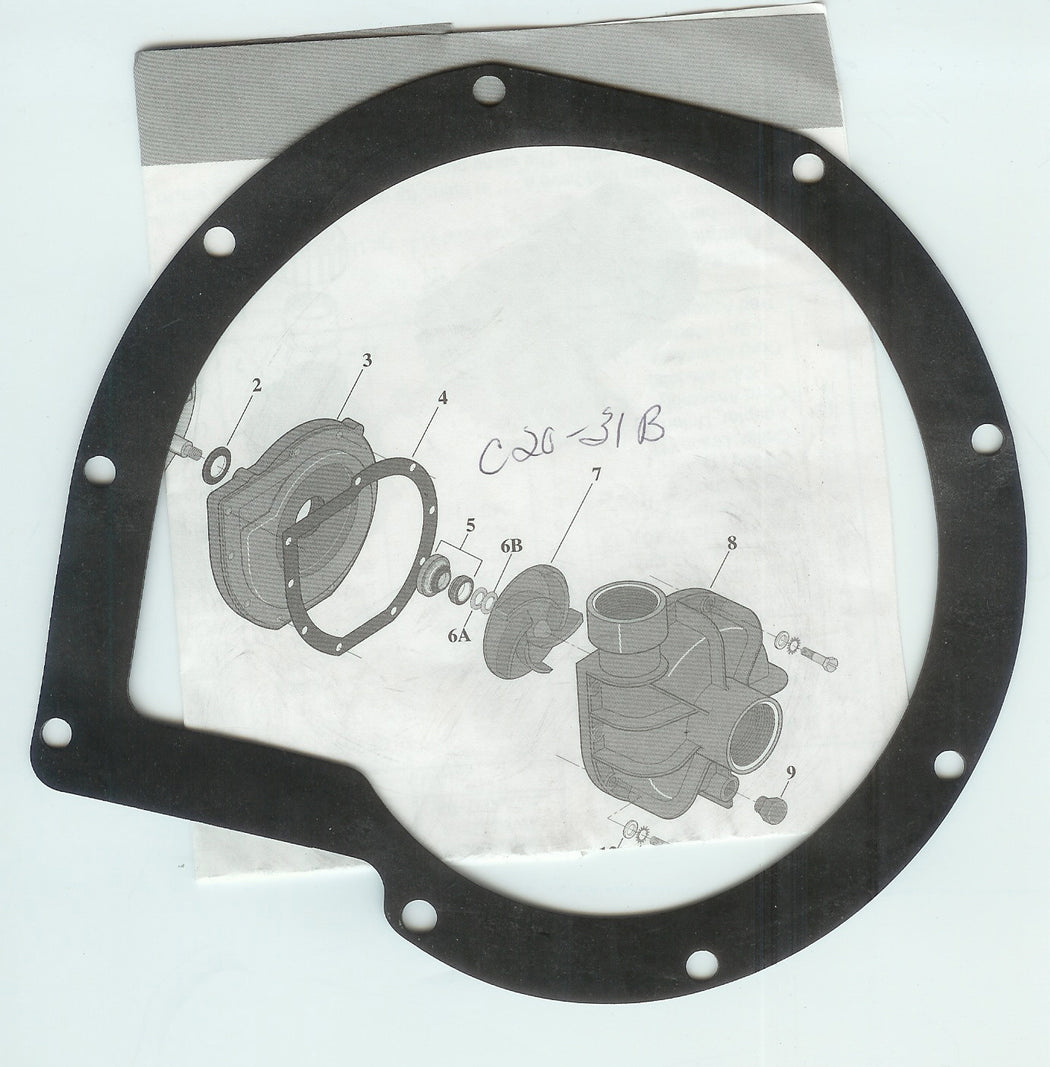 PUMP GASKET SWIMQUIP C20-31B