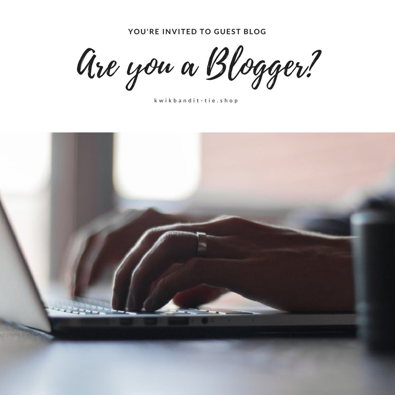 Are you a blogger? Receive FREE product in return for a blog post - contact us at https://kwikbandit-tie.shop/pages/contact