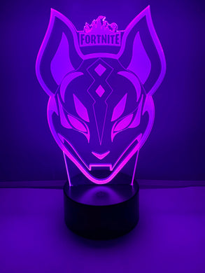 Lampe 3D DEL Fortnite Masque
