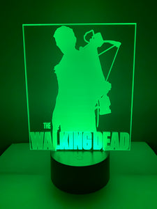 Lampe 3D DEL Daryl Dixon The Walking Dead