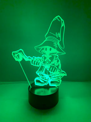 Lampe 3D DEL Final Fantasy Dark Mage Vivi