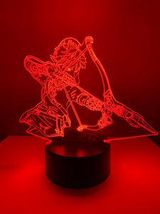Lampe 3D DEL Link Archer Breath of the wild